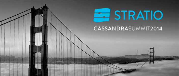 Stratio at the Cassandra Summit in San Francisco 2014