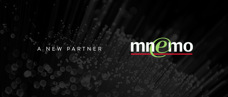 We welcome Mnemo as our partner