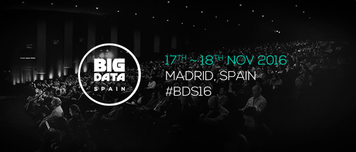 Ideas from Big Data Spain 2016